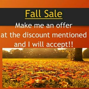 Sale! I'll accept your offer or Like and i'll send